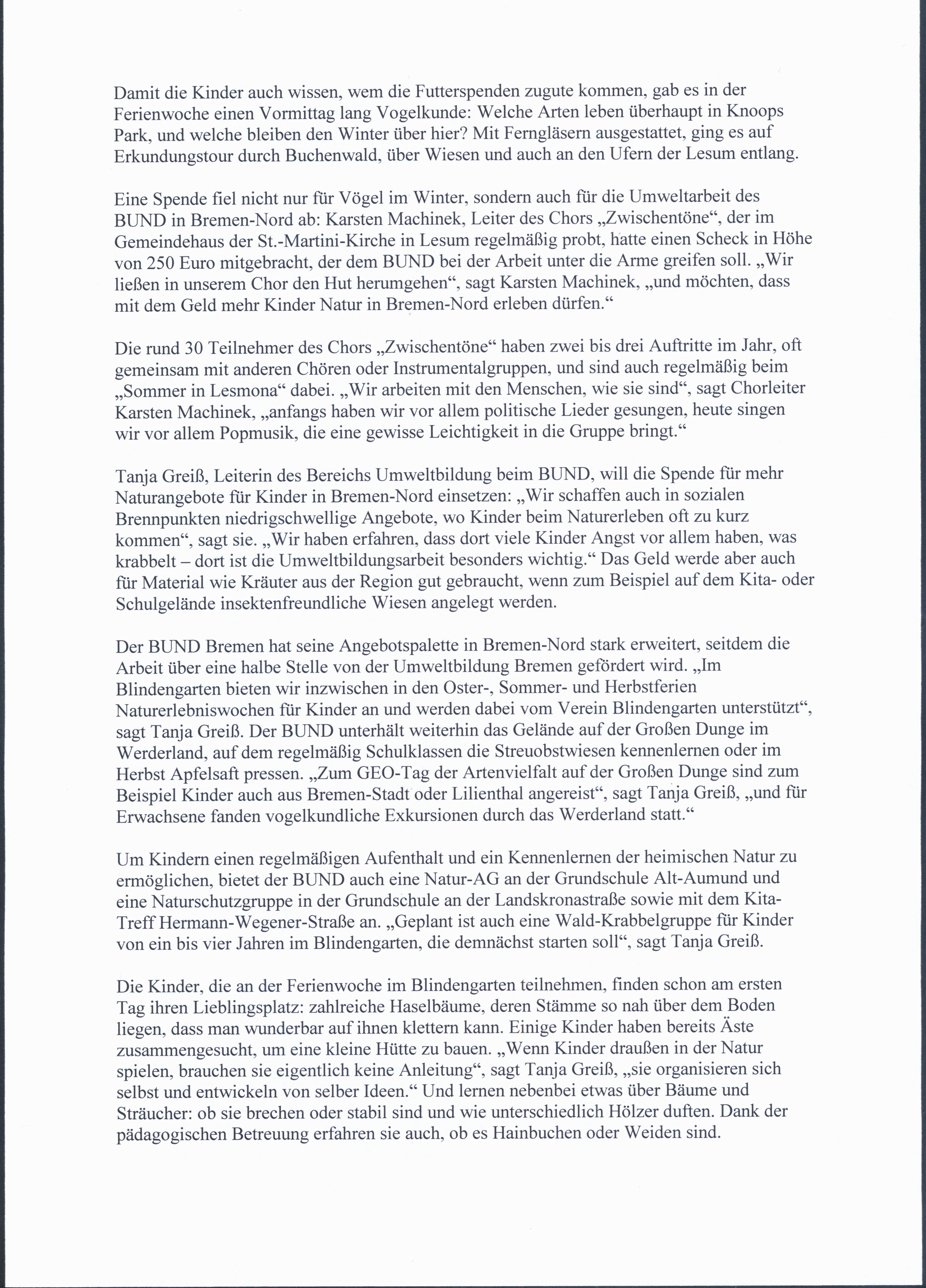 Die Norddeutsche - Artikel 14.10.2019, Seite 2