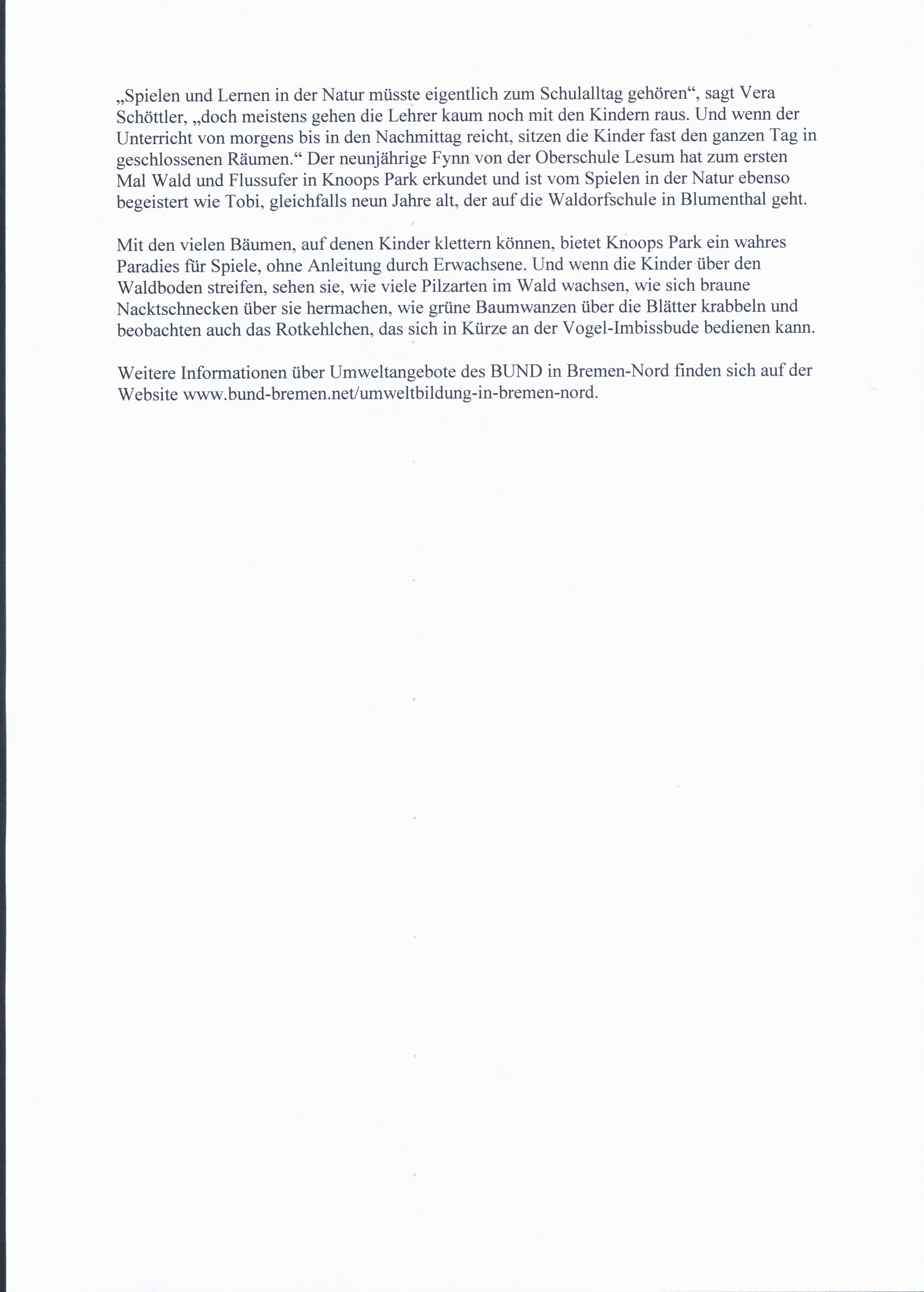 Die Norddeutsche - Artikel 14.10.2019, Seite 3